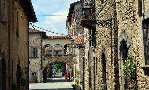 il borgo murato di Filetto