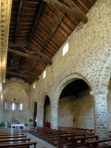 Pieve di Sorano: interno