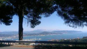 Vista su La Spezia dalla strada litoranea
