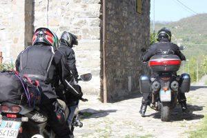 In partenza sulle moto
